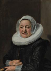 Hals, Portret van een 57-jarige vrouw
