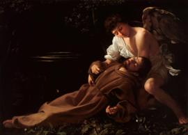 Caravaggio, Sint Franciscus in extase