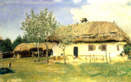 Repin, Oekraïns boerenhuis