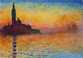 Monet, San Giorgio Maggiore in de mist