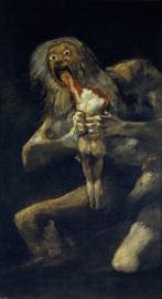 Goya, Saturnus verslindt zijn zoon