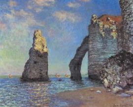 Monet, De kliffen van Etrenat