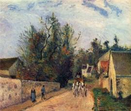Pissarro, Postkoets naar Ennery