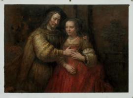 Rembrandt: Het Joodse bruidje
