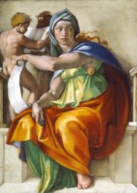 Michelangelo, Delphische Sibille (waarzegster)