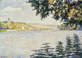 Signac, Zicht op de Seine bij Herblay