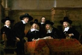 Rembrandt, De staalmeesters