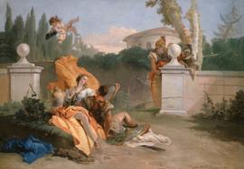 Tiepolo, Rinaldo en Armida in haar tuin