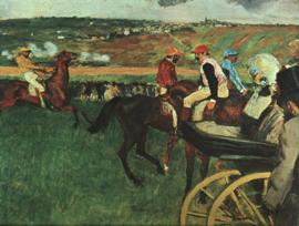 Degas, Bij de races