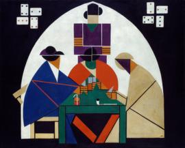 Van Doesburg, Kaartspelers