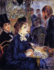 Renoir, In het café