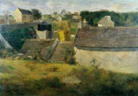 Gauguin, Huizen in Vaugirard