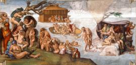 Michelangelo, De zondvloed