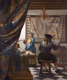 Vermeer, De schilderkunst