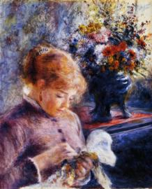 Renoir, Jonge vrouw met handwerk