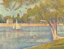 Seurat, De Seine bij La Grande Jatte