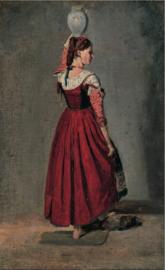 Corot, Italiaanse met kruik
