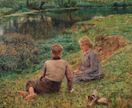 Claus, Kinderen in een landschap