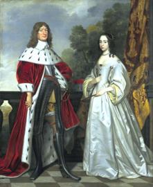 Van Honthorst, Frederik Willem 1 en Louise Henriette van Nassau