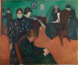 Munch, Dood in de ziekenkamer