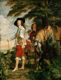 Van Dyck, Karel 1, koning  van Engeland, tijdens de jacht