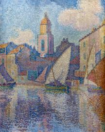 Signac, De klokkentoren van Saint-Tropez