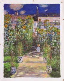 Monet, Monets tuin in Vetheuil