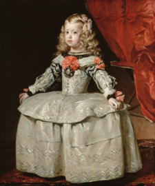 Velázquez, Margaretha als kind
