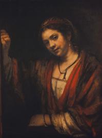Rembrandt, Portret van Hendrickje Stoffels