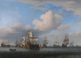 Van de Velde, Veroverde Engelse schepen na de Vierdaagse zeeslag
