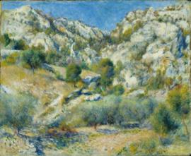 Renoir, Rotsen bij l'Estaque