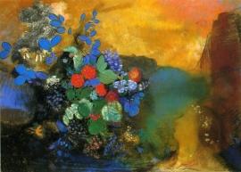 Redon, Ophelia tussen de bloemen
