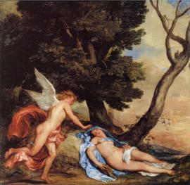Van Dyck, Amor en Psyche
