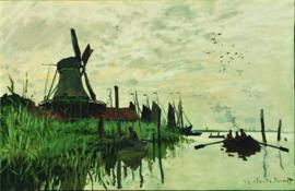 Monet, Watermolen bij Zaandam