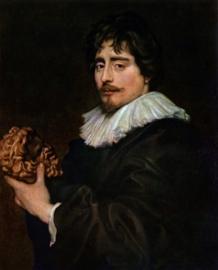 Van Dyck, Beeldhouwer Francois Dugesnay