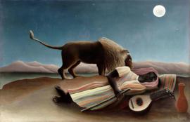 Rousseau, De slapende zigeuner