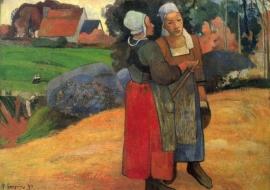 Gauguin, Bretonse boerinnen