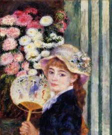 Renoir, Meisje met waaier