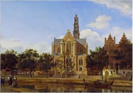Van der Heyden, De Westerkerk in Amsterdam