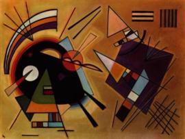 Kandinsky, Zwart en violet