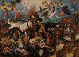 Bruegel, De val van de opstandige engelen