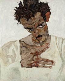 Schiele, Zelfportret