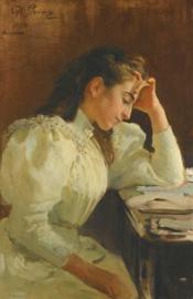 Repin, Portret van een Napolitaanse vrouw
