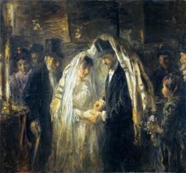 J. Israëls, Een joodse bruiloft