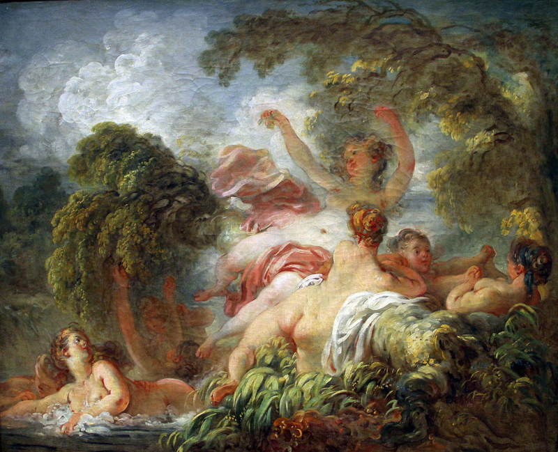 Fragonard, De badenden