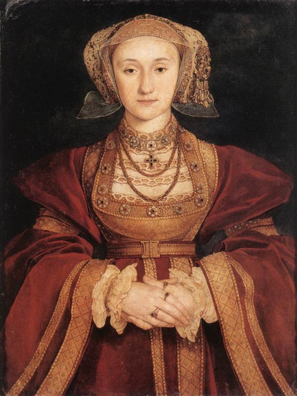 Holbein, Portret van Anna van Kleef