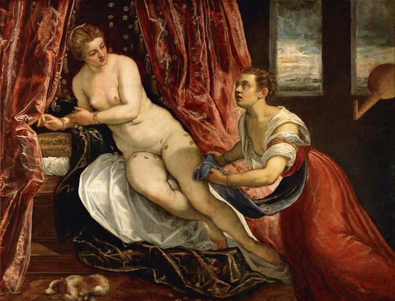 Tintoretto, Danae