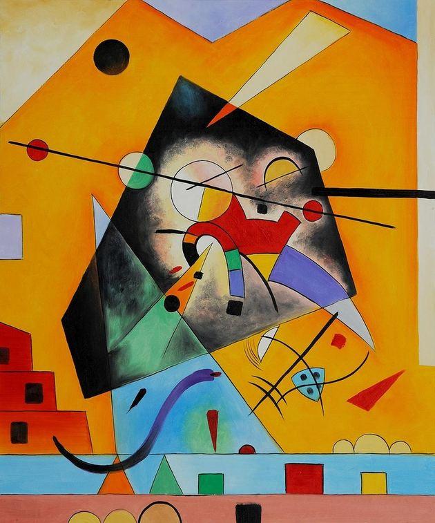 Kandinsky, Rustige harmonie