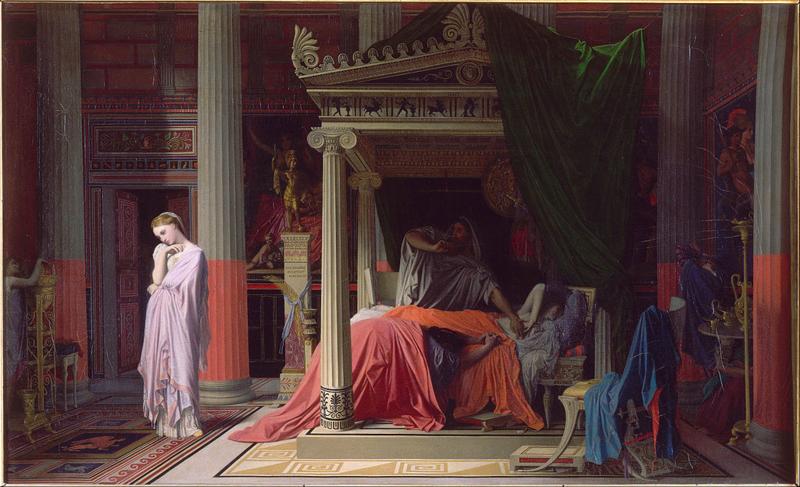 Ingres, Antochius en Stratonice