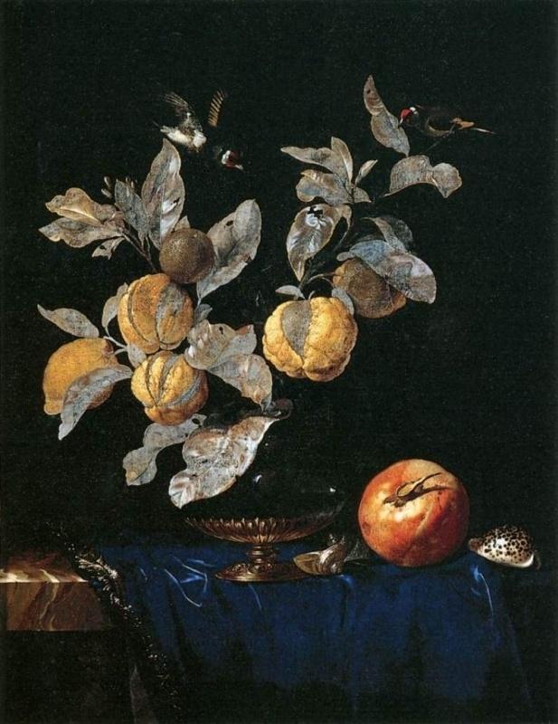 Van Aelst, Stilleven met fruit